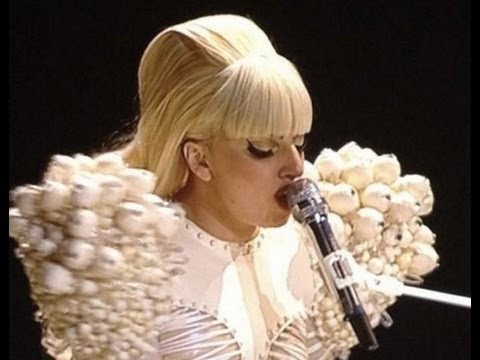 Lady Gaga Performs at Staff Inaugural Ball for President Obama