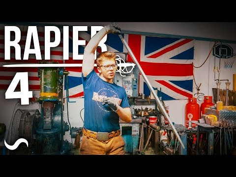 MAKING A BASKET HILT RAPIER SWORD: PART 4