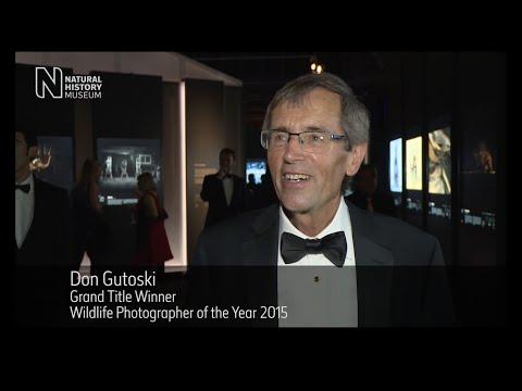 Winner's reaction: Wildlife Photographer of the Year 2015