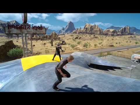Episode Ignis - combat contre Noctis  de Final Fantasy XV