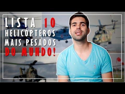 Confira os 10 Helicópteros mais...