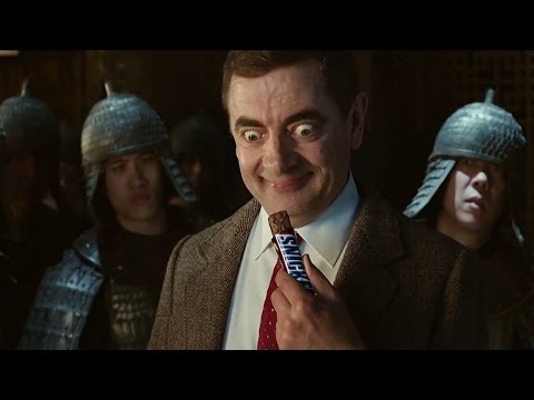 mr bean - spot snickers