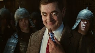 Check out the new Snickers TV ad where Mr Bean demonstrates that you're not Kung Fu when you're #hungry.