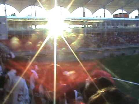 curico unido v/s ñublense,cantando sin parar chillan es un funeral - Los Marginales - Curicó Unido