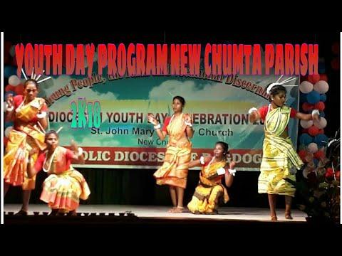 Youth Day Calibration Program New chumta Parish.