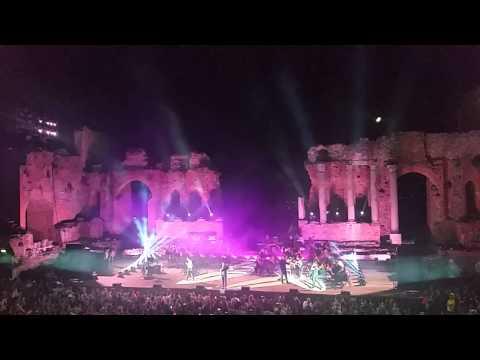 """""""il volo"""" a taormina - 23 agosto 2015"""