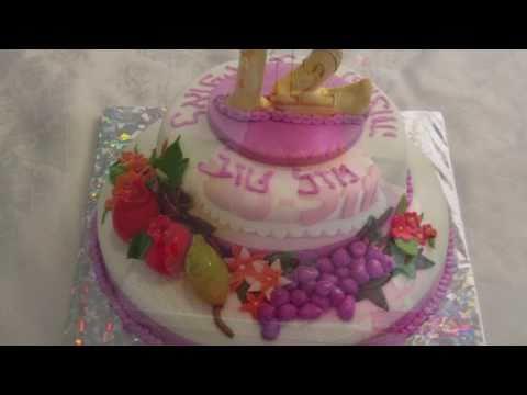 עוגת בר מצווה - עוד מהעוגות המעוצבות של ענתו'ש.