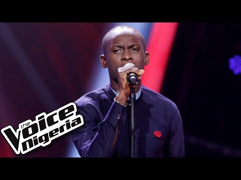 """Okafor Emmanuel sings """"Step in the name of love"""" / Blind Auditions / The Voice Nigeria Season 2"""