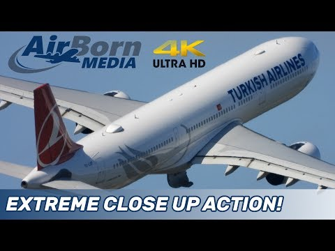 Manchester Airport 4K Plane Spotting 16th May 2019 16/5/19 Extreme Close Up Action