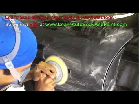 How To Sand a Car - How To Buff a Car (Wet sand and dry sand tips)
