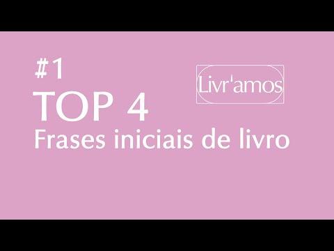 TOP 4 - Melhores Frases Iniciais de Livro #1