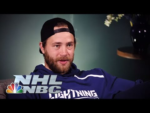 Video: 'Skates Off' with Lightning's Victor Hedman | NHL | NBC Sports