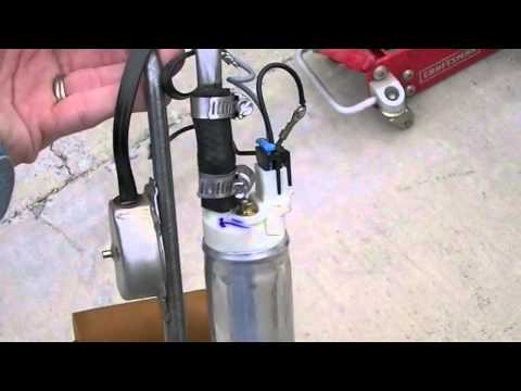 1984 Cadillac Coupe DeVille – Fuel Pump and Sending Unit Ready to Be Reinstalled