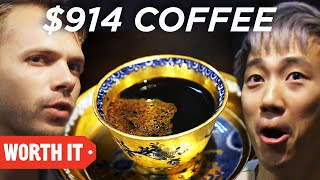 Video $1 Coffee Vs. $914 Coffee • Japan MP3, 3GP, MP4, WEBM, AVI, FLV Juni 2019