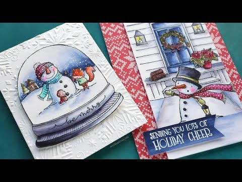 This person's dedication to hand-making greeting cards is mesmerizing.