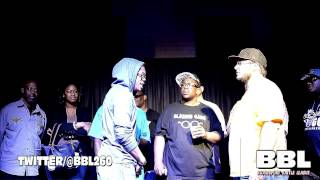Bloodsport Battle League | Nyque Bezel vs. 3PFD