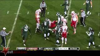 Shilique Calhoun vs Nebraska (2014)