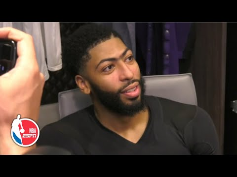 Anthony Davis praises the Lakers' defense for holding the Heat to just 80 points | NBA on ESPN