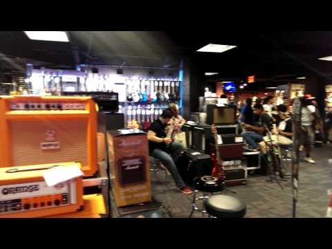 Times Square Guitar Center