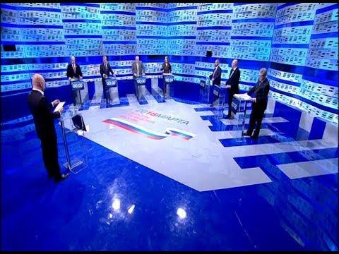 Дебаты 2018 на Первом Канале (28.02.2018, 08:05)