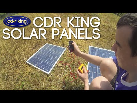 CDR KING Solar Panels
