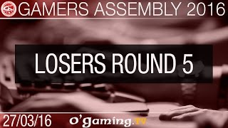 DeadPixels vs XenoDragons - Gamers Assembly 2016 - Losers Round 5
