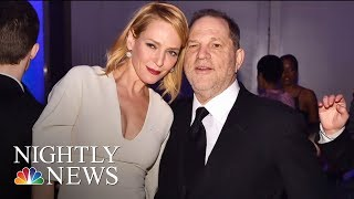 Video Uma Thurman Breaks Silence And Slams Harvey Weinstein | NBC Nightly News MP3, 3GP, MP4, WEBM, AVI, FLV Juni 2018