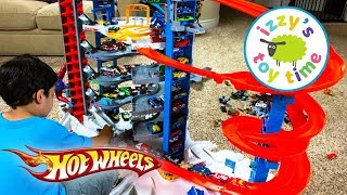 Video Cars for Kids | Hot Wheels Super Ultimate Garage Playset | Fun Toy Cars for Kids Pretend Play MP3, 3GP, MP4, WEBM, AVI, FLV Desember 2017
