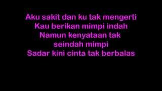 Lirik Lagu Yovie n Nuno - Sakit Hati   koleksi lirik lagu indo
