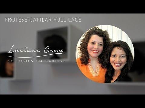 Protese Capilar Full Lace - Luciana Cruz