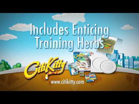 Amazing! CitiKitty Cat Toilet Training Kit