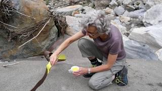 Chiara Fiorini Metallobjekt 1 im Flussbett 2018
