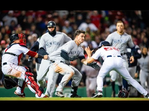 MLB Fights 2018