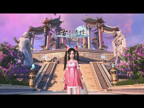 Swords of Legends Online 古剑奇谭网络版 - Max Settings Gameplay Fox Class Main Story - Open Beta