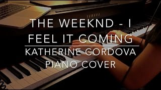 The Weeknd ft. Daft Punk - I Feel It Coming (HQ piano cover)