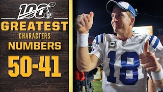 100 Greatest Characters: Numbers 50-41 | NFL 100 by NFL Films