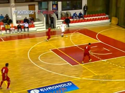 FUTSAL - FRIENDLY ( OCTOBER 2014 ) MONTENEGRO - ENGLAND 2nd Match