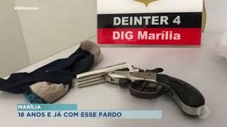 Jovem de 18 anos confessa homicídio de adolescente em Marília