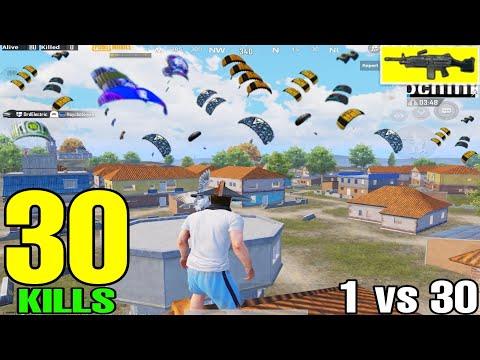 BEST GAMEPLAY in SEASON 15 | 30 KILLS SOLO VS SQUAD | PUBG MOBILE