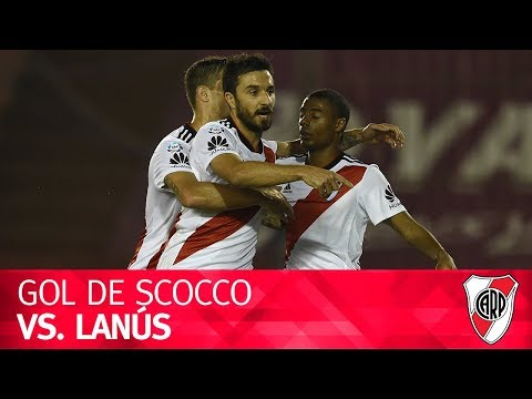 Gol de Nacho Scocco vs. Lanús