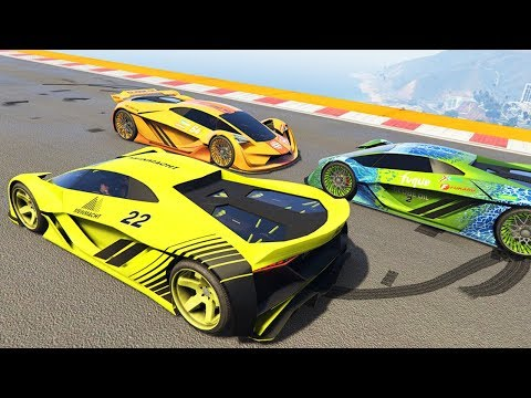 ГОНКИ НА НОВОЙ БЫСТРОЙ МАШИНЕ ЗА 3.000.000$ В GTA 5 ONLINE (видео)