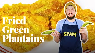 How to Make Patacones (Fried Green Plantains) l Chowhound at Home — Cook #WithMe by Chowhound
