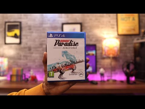 Burnout Paradise Unboxing For PS4 Pro