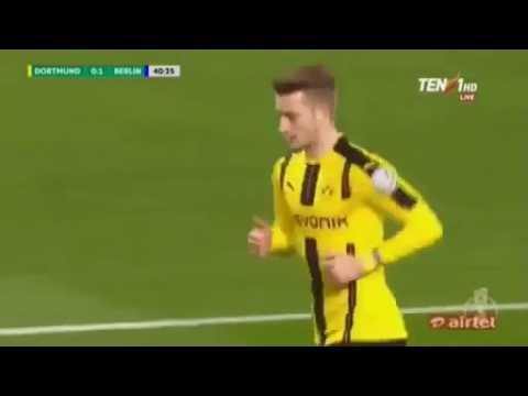 Borussia Dortmund 1-1 Hertha Berlin - All Goals & Extended Highlights 08/02/2017