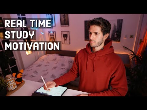 REAL TIME study with me (no music): 5 HOUR Productive Pomodoro Session | KharmaMedic