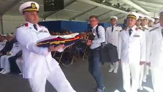 """مراسم تسلم القوات البحرية المصرية الفرقاطة """" الفاتح"""""""
