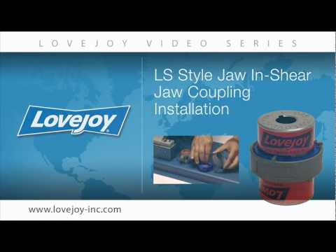 Lovejoy Jaw In-Shear Coupling Installation Video thumbnail