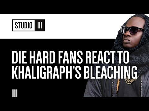 Die Hard Fans React to Khaligraph Jones Bleaching | Studio 3