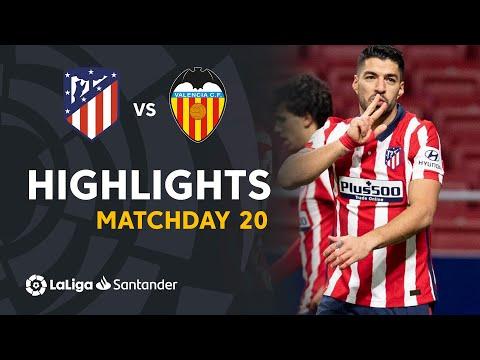 Highlights Atletico Madrid vs Valencia CF (3-1)