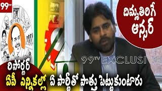 Pawan Kalyan Mind Blowing Answer to Reporter over alliance